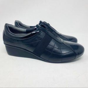 New Ros Hommerson Eden Leather Wedges Size 8.5W